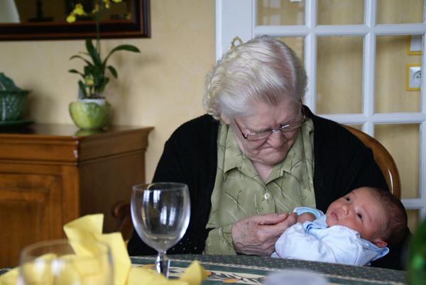 mémé, mon arrière grand-mère